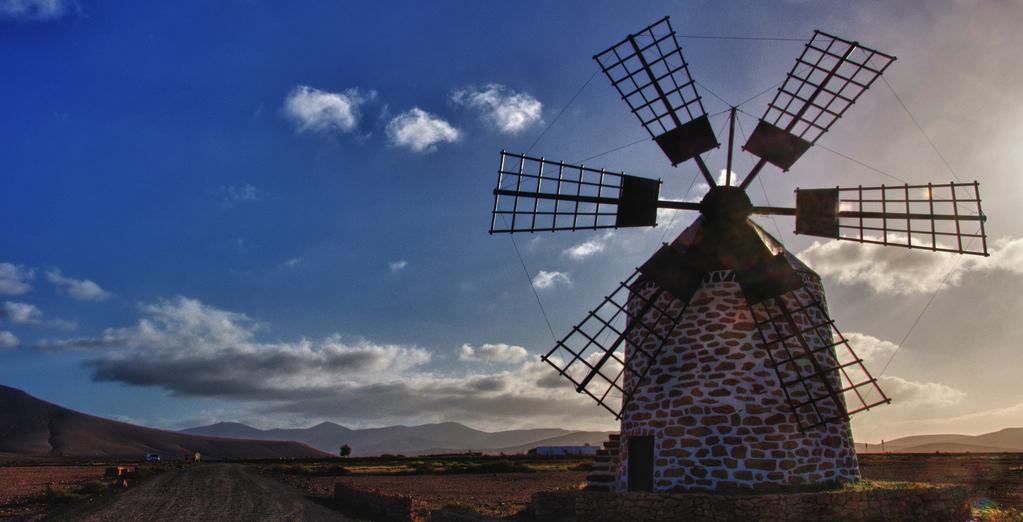 windmill-on-fuerteventura
